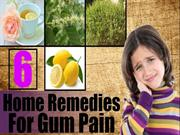 6 Home Remedies For Gum Pain