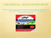 Home Heating Oil – Belfast Northern Ireland