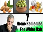 Top 7 Home Remedies For White Hair