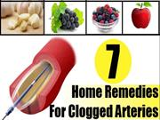 7 Home Remedies For Clogged Arteries