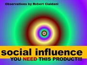 Social Influence for Startups Marketers