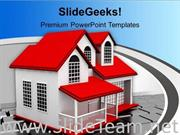 HOME ONLINE BUY SELL CONCEPT INTERNET POWERPOINT TEMPLATE