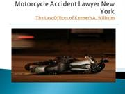 Motorcycle Accident Lawyer NY | The Law Offices of Kenneth A. Wilhelm