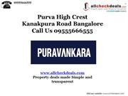 Purva High Crest Bangalore – Call 09555666555