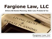 Wills, Trusts & Estate Planning - Fargione Law, LLC