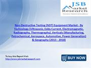 JSB Market Research : Non-Destructive Testing (NDT) Equipment Market