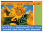 1 - Discover  Shaklee  With  Video