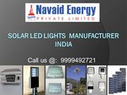 Solar LED Lights Manufacturer  Navaid Energy pvt.ltd.