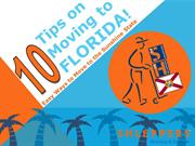 10 Tips on Moving to Florida