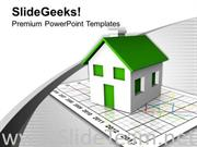 REAL ESTATE GROWTH MARKET POWERPOINT TEMPLATE