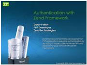 Authentication-with-Zend-Framework