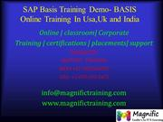 SAP Basis Training Demo- BASIS Online Training In Usa,Uk and India