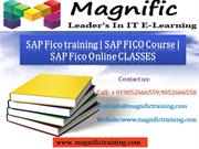 SAP Fico training - SAP FICO Course  @ SAP Fico Online CLASSES