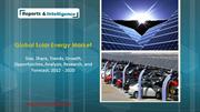 Global Solar Energy Market