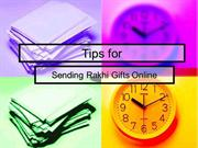 Tips for sending Rakhi gifts online