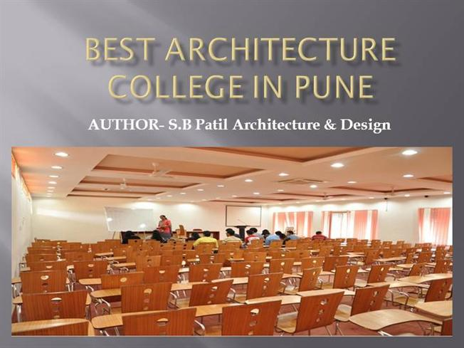 best architecture college in pune |authorstream