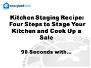 Professional Staging - Kitchen Staging