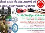 Cardiovascular system assessment