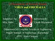 VIRUS & FIREWALL BY VIKASH MAINANWAL