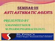 ANTI ASTHMATIC AGENT