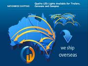 Quality LED Lights Available for Trailers, Caravans and Canopies