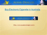 Buy Electronic Cigarette in Australia