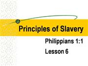 Philippians 1:1 Lesson 6