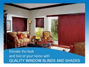 Window blinds & shades that bring about a cool & delightful atmosphere