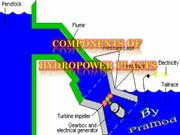 Components of hydropowerplant