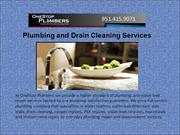 Plumbing and Drain Cleaning Services