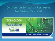 Distribution Software – Best Asset For Business Success!
