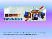 Medical Study in Germany
