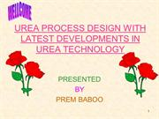 New Developments in Urea Technology
