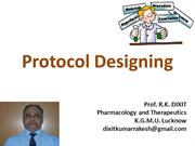 Protocol Designing for scientific research