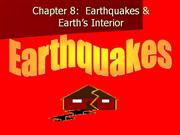 Earthquakes & Earth's Interior