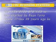 CDC BUSINESS SYSTEMS Overview