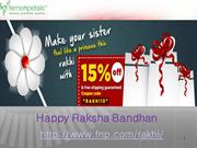 Send Rakhi to India Online and Buy Rakhi Gifts Online