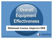 Overall Equipment Effectiveness by Operational Excellence Consulting