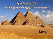 Visit Egypt with Egypt Travel Experts