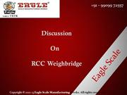 RCC weighbridge manufacturer and exporter