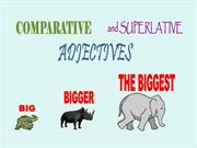 UNIT 3 COMPARATIVES AND SUPERLATIVES