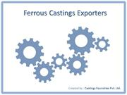 Ferrous Castings Exporters from India
