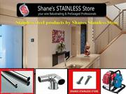 Stainless steel products by Shanes Stainless Store