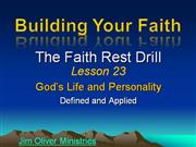 Building Your Faith Lesson 23