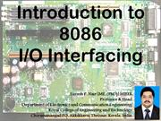 Microprocessor Interfacing Basics