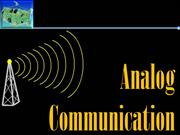 Analog Communication - INTRODUCTION TO COMMUNICATION