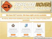 Professional Movers | Canada (Perfection Movers)