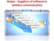 Geiper - Suppliers of software in wireless communication
