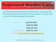 Luton Airport Black Radio Taxi Service - National Radio Cars