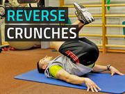 Reverse Crunches - Easy & Effective Lower Abs Exercise